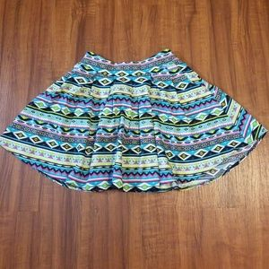 Dresses & Skirts - Aztec Print Cute Skater Skirt